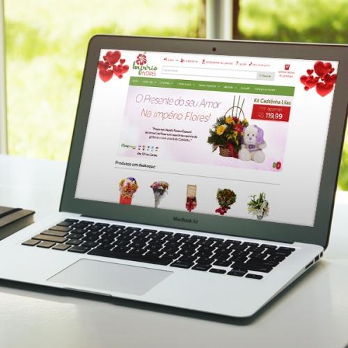 Império Flores Loja Virtual